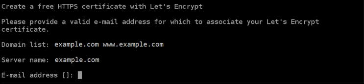 Associating your email address with your Let's Encrypt certificate